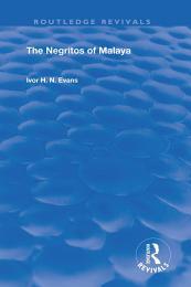 The Negritos of Malaya