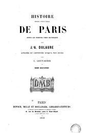 Histoire physique, civile et morale de Paris: depuis les premiers temps historiques