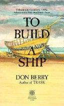 To Build a Ship PDF