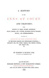A history of the inns of court and chancery