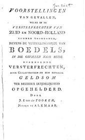 Het Zuid en Noord-Hollands versterfrecht met geslachtboomen opgehelderd door J. L. van der Tooren