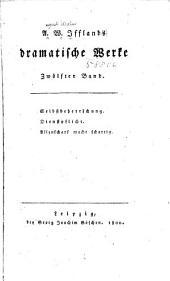 A. W. Ifflands dramatische werke: Band 12