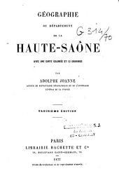 Géographie du département de la Haute-Saône