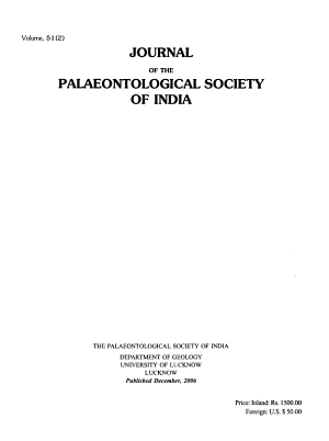 Journal of the Palaeontological Society of India