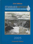 Standard Methods for the Examination of Water   Wastewater PDF
