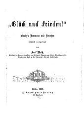 """""""Glück und Frieden!"""""""