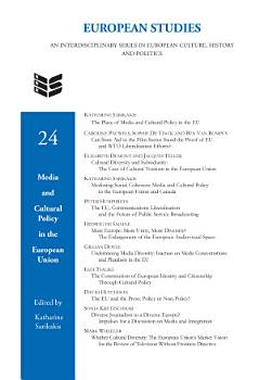 Media and Cultural Policy in the European Union PDF