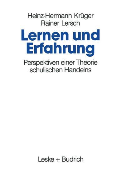 Lernen und Erfahrung PDF