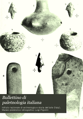 Bullettino di paletnologia italiana: Volumi 28-29