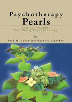 Psychotherapy Pearls PDF
