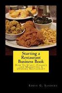 Starting a Restaurant Business Book