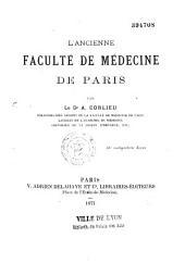 L'ancienne faculté de médecine de Paris