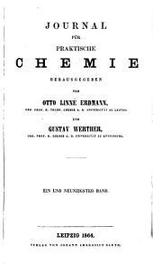 Journal für praktische Chemie: Bände 91-92