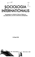 Sociologia Internationalis