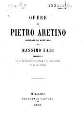 Opere di Pietro Aretino