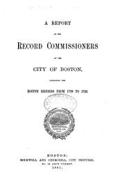 Records Relating to the Early History of Boston: Volume 12
