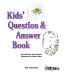 Kids' Question and Answer Book