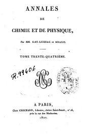 Annales de chimie et de physique: Volume34