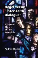 Hegel versus  Inter Faith Dialogue  PDF
