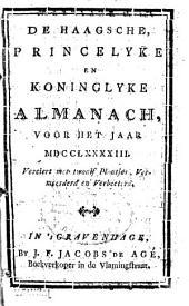 De Haagsche, princelyke en koninglyke almanach, voor het jaar MDCCLXCIV[!]