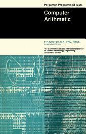 Computer Arithmetic: Pergamon Programmed Texts