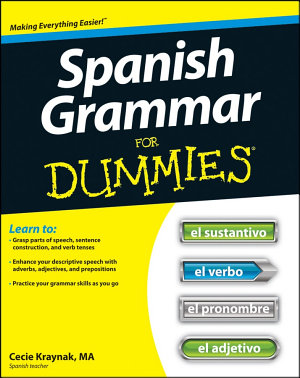 Spanish Grammar For Dummies PDF