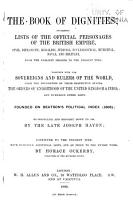 The Book of Dignities PDF