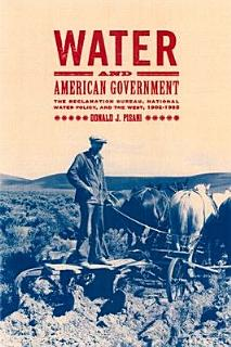 Water and American Government Book