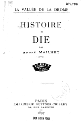 Histoire de Die