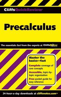 CliffsQuickReview Precalculus Book