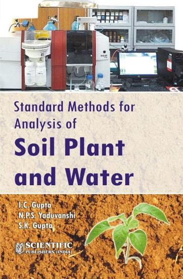Standard Methods For Analysis Of Soil Plant And Water PDF