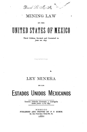 Mining law of the United States of Mexico