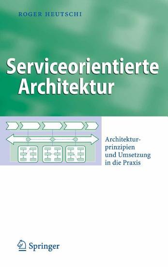 Serviceorientierte Architektur PDF