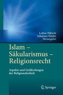 Islam   S  kularismus   Religionsrecht PDF