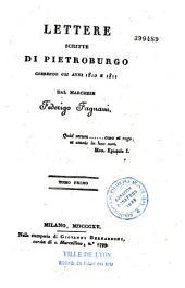 Lettere scritte di Pietroburgo...: 1810-1811