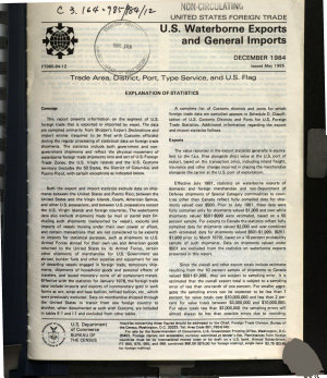United States Foreign Trade PDF