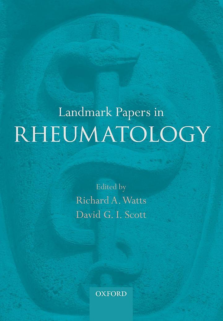 Landmark Papers in Rheumatology