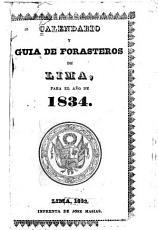 Calendario y gu  a de forasteros de Lima para el a  o de     PDF