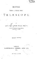 Hours with a Three inch Telescope PDF