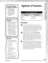 Academic Vocabulary Level 1--Symbols of America