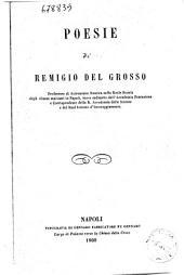 Poesie di Remigio Del Grosso