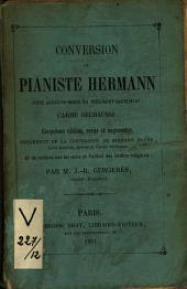 Conversion du Pianiste Hermann (Père Augustin-Marie du Très-Saint-Sacrement) Carme Déchaussé
