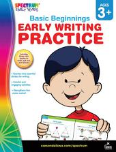 Early Writing Practice, Ages 3 - 6