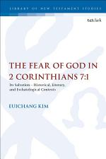 The Fear of God in 2 Corinthians 7:1