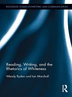 Reading  Writing  and the Rhetorics of Whiteness PDF