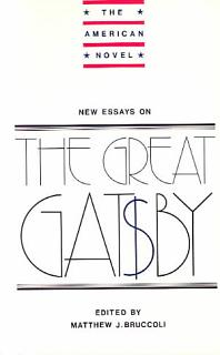 New Essays on The Great Gatsby Book