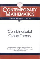 Combinatorial Group Theory PDF