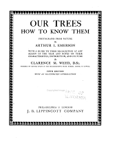 Our Trees, how to Know Them