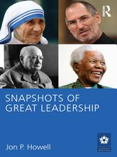Snapshots of Great Leadership