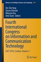 Fourth International Congress on Information and Communication Technology PDF